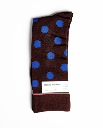 Bonne Maison - Dark Brown Polka Dot