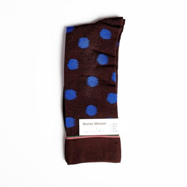 Bonne Maison - Dark Brown Polka Dot