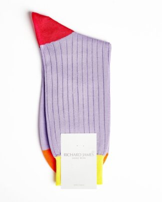 Richard James Premium Cotton Blend Violet