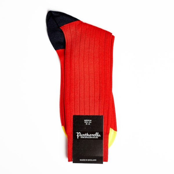 Pantherella Portobello Red