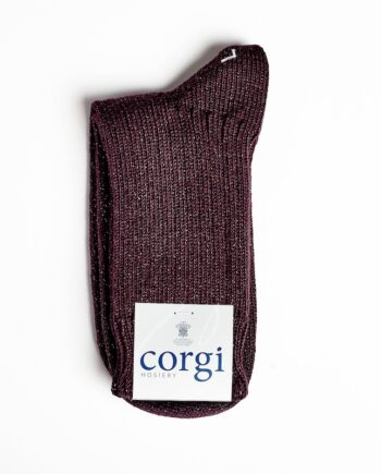 Corgi Cotton Blend Burgundy