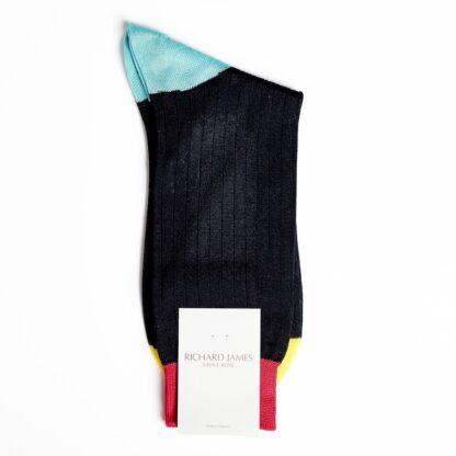 Richard James Premium Cotton Blend Black