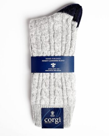Corgi Cable Cashmere Grey