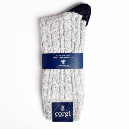 Corgi Cable Cashmere Grey